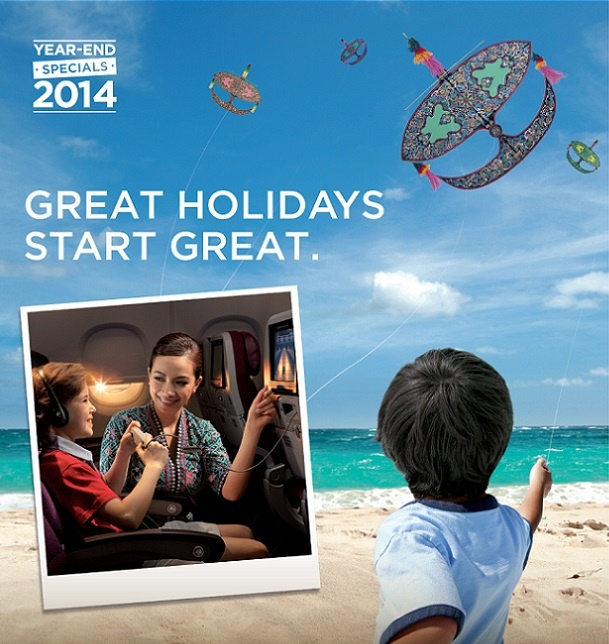 Malaysia Airlines Promotional Airfares!  Year-end Specials 2014