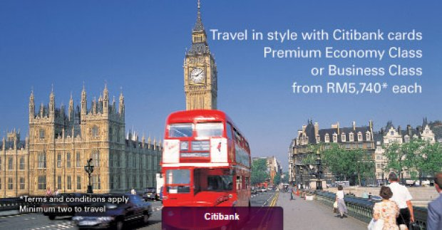 Travel in style with Cathay Pacific/Citibank Premium Economy & Business Class from RM5,740* each