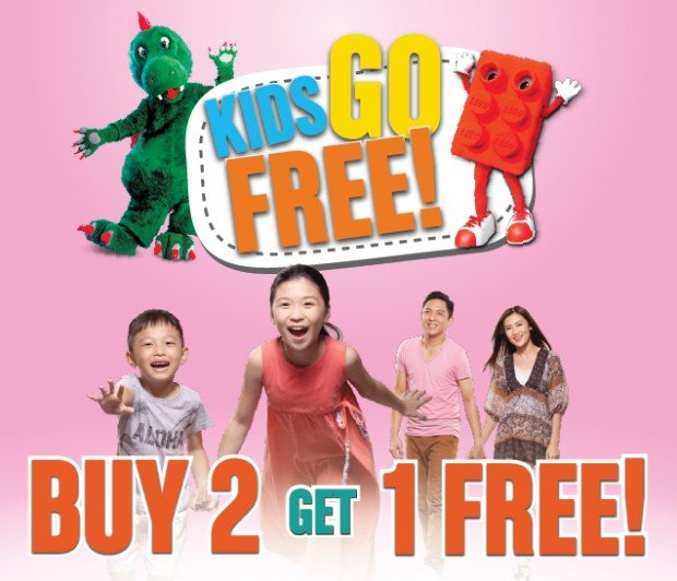 buy one get one free theme park tickets