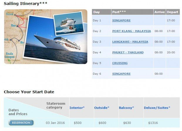5 Night Spice of Se Asia Cruise from SGD 500* 2