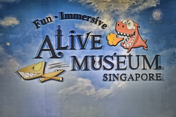 Complimentary Ticket to Alive Museum SIngapore with Maybank Cards