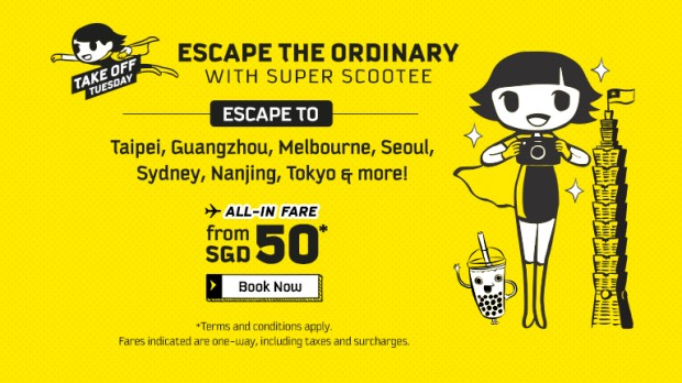 Scoot your Next Adventure from SGD 50