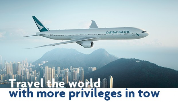 Enjoy exclusive All-in Economy Class* and Two-To-Go Early Bird^ Fares on Cathay Pacific Airways with UOB Cards