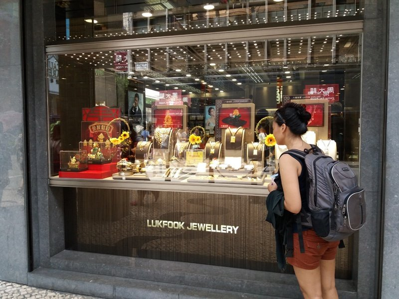 macau jewellery shop