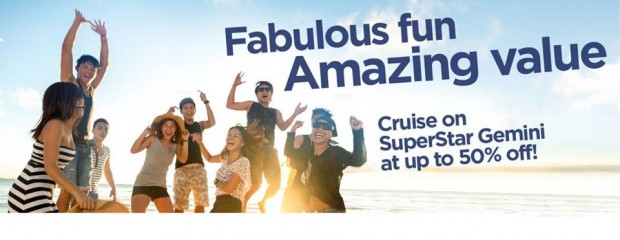 Great Star Cruises Deal - 50% Off All Pax with SuperStar Gemini