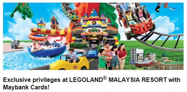 35% off tickets to LEGOLAND® Malaysia Resort exclusively with Maybank Cards!
