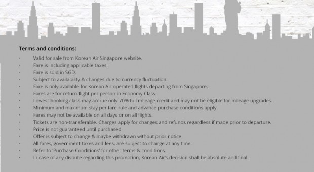 US Advanced Purchase Promotion from Korean Air 2