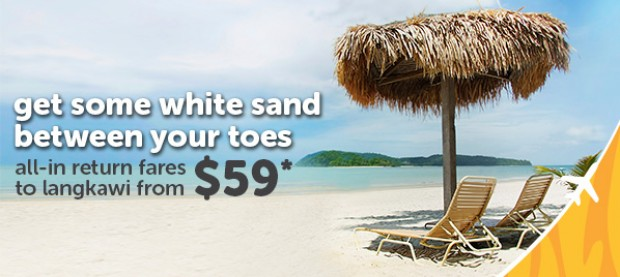 Fly to Langkawi with TigerAir and Enjoy the Beach from SGD59