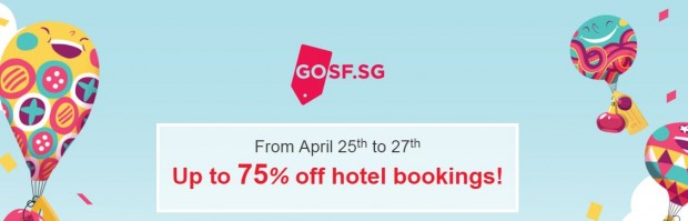 75% Off Hotel Bookings with Agoda in Conjunction to GOSF 2016 1