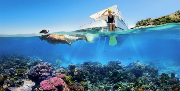 Experience the Great Barrier Reef at Cairns with SilkAir