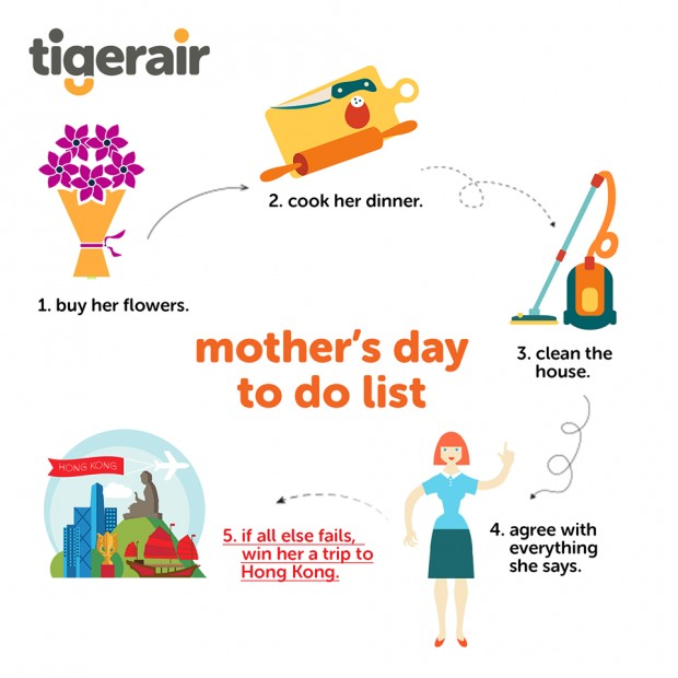 WIN Exciting Prizes with TigerAir's Mothers Day Special