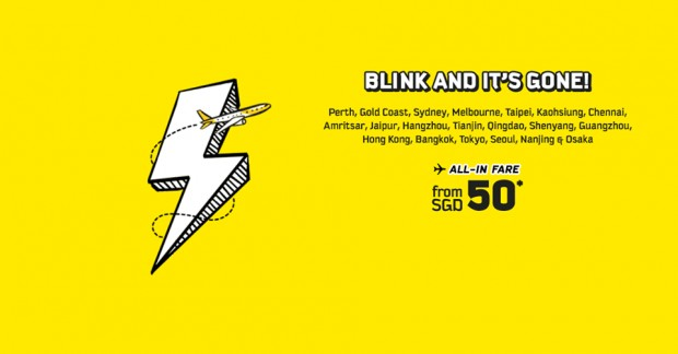 Scoot around Asia and Australia with Flight Flash Sale from SGD50