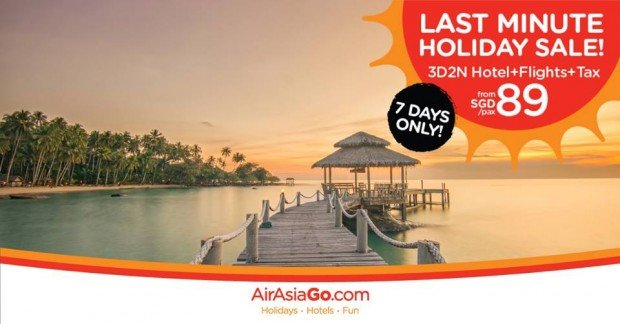 Last Minute Holiday Sale! | 7 Days only Sale at AirAsiaGo 1
