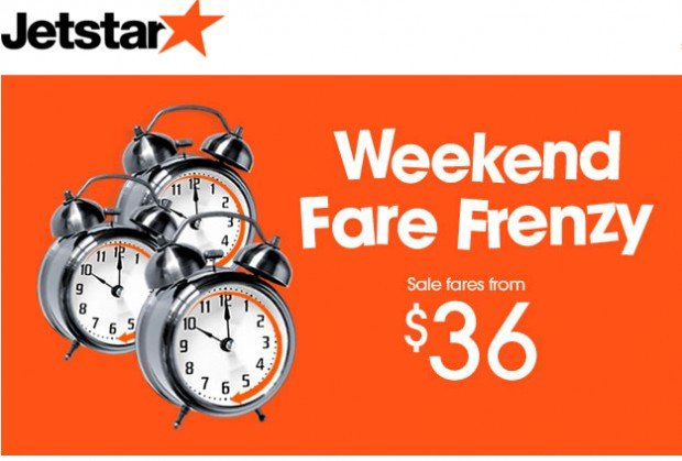 Weekend Fare Frenzy! Cheap Fares from $36! 1
