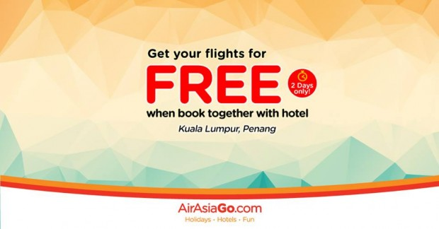 Get your Flights for FREE when Book Together with Hotel via AirAsiaGo 1