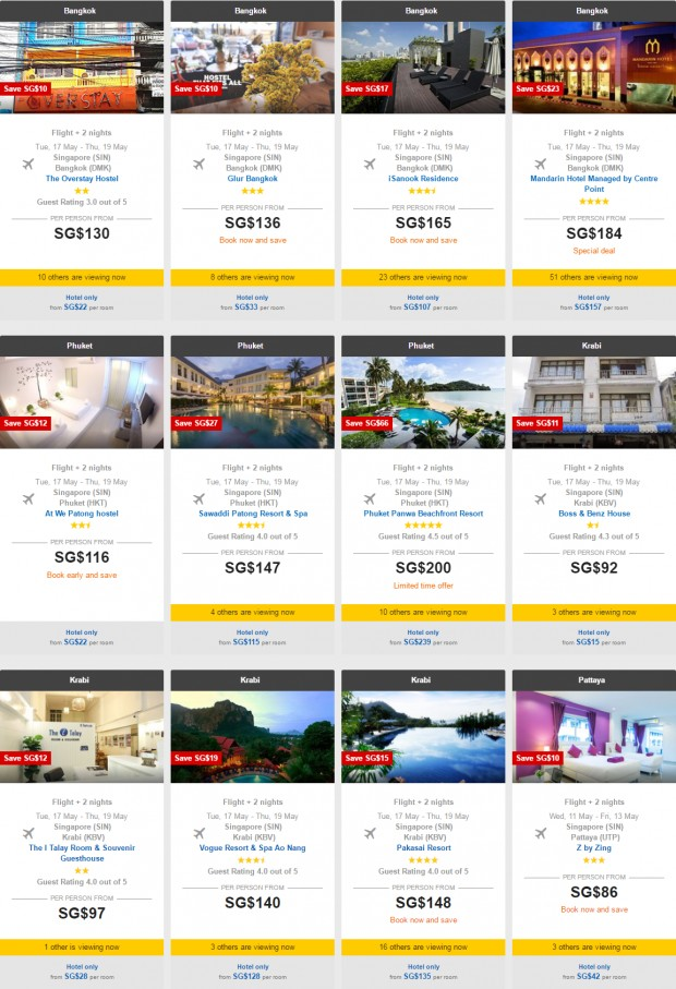 Last Minute Holiday Sale Starting from SGD95 with AirAsiaGo