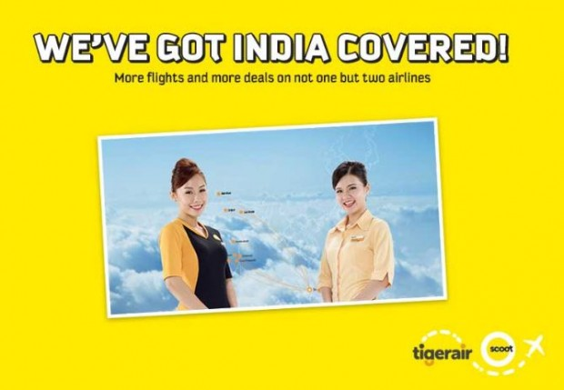 Scoot Covered India! Fly now from SGD198