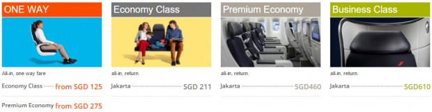 Jakarta Promotion: One - Way Fare from SGD 125 all - in 2