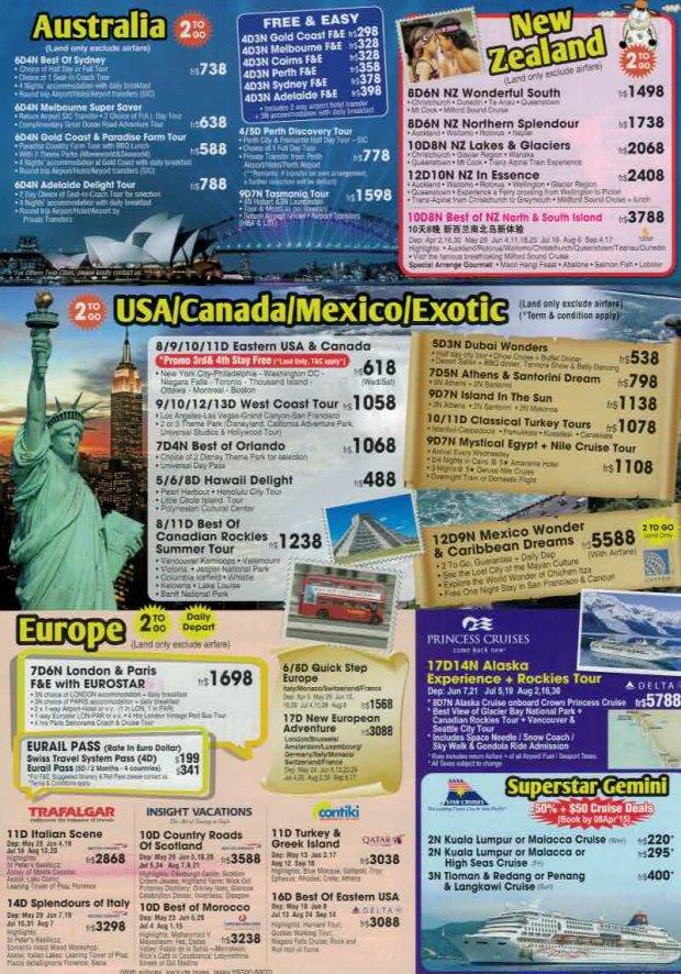 Asia-Euro Holidays NATAS (Page 4) - NATAS Travel Fair March 2015