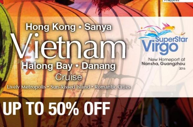 Up to 50% Off SuperStar Virgo ex-Nansha Cruise with Star Cruises