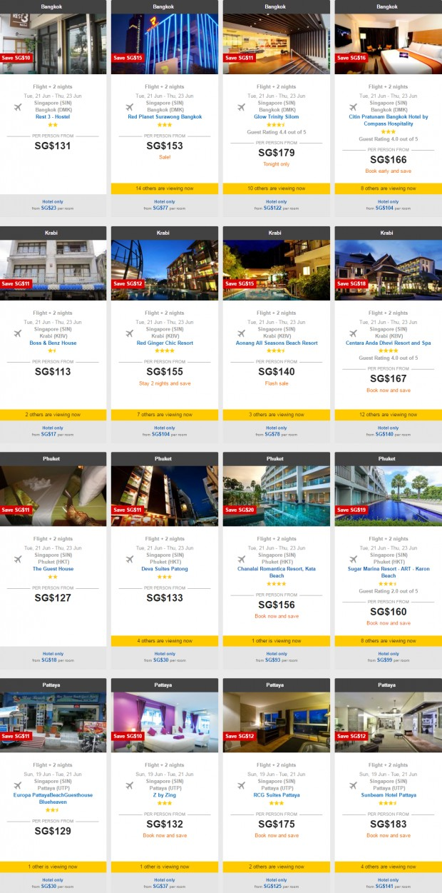 AirAsiaGo 7 Days Sale! 3D2N Hotel+Flights+Tax from SGD85 2