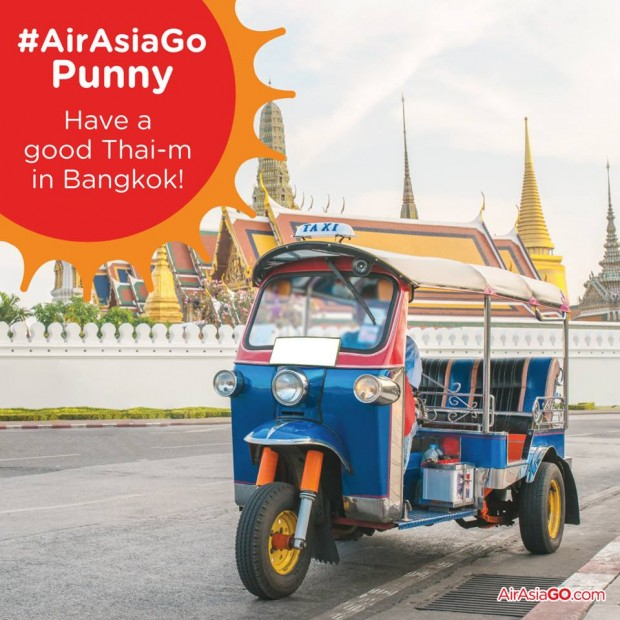 WIN a 3D2N all-expenses-paid trip for 4 to Thailand from AirAsiaGo