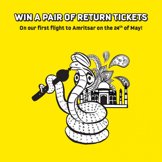 WIN a Pair of Return Tickets to India from Scoot