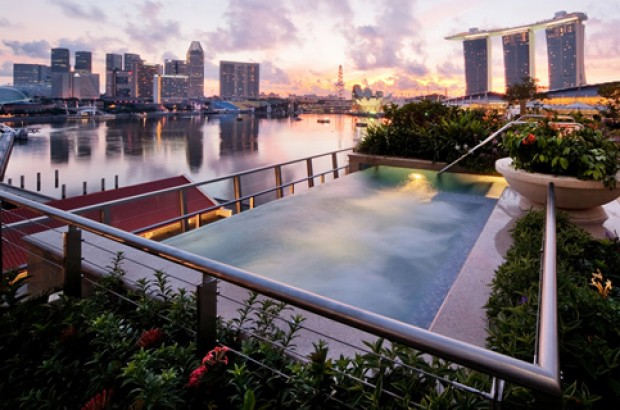 WIN Presidential Suite Stays for 2 in The Fullerton Bay Hotel Singapore