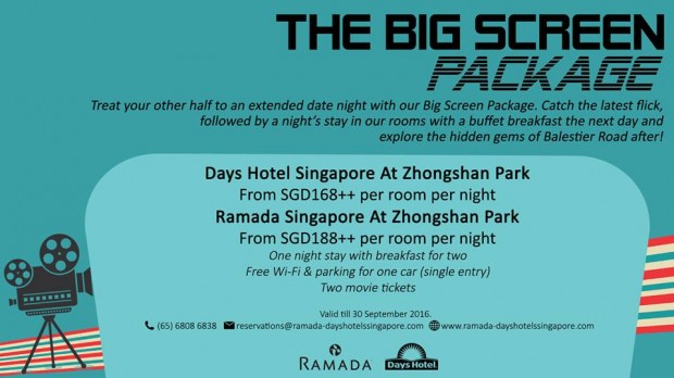 The Big Screen Package at Days Hotel at Zhongshan Park
