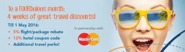 Up to 12% Off Hotel Bookings in Zuji with MasterCard