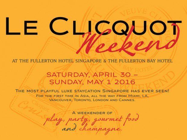 Luxury Le Clicquot Weekend Staycation from The Fullerton Bay Hotel