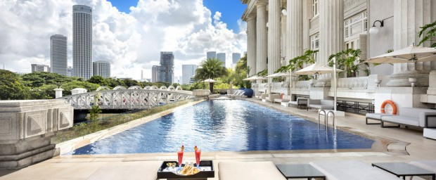 Enjoy The Fullerton Hotel Summer Special Room Rate at SGD383*