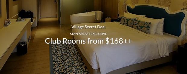 Village Secret Deal from SGD168 via Far East Hospitality
