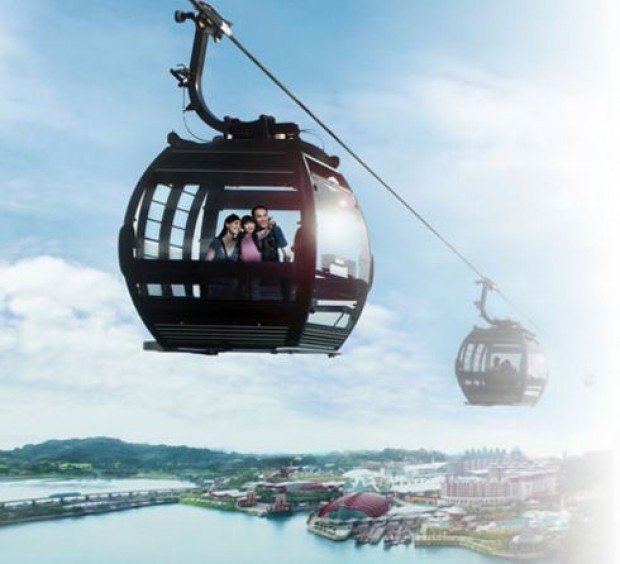 55% Off Singapore Cable Car Sky Pass with NTUC Card