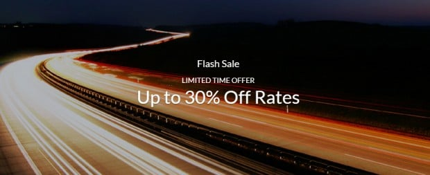Limited Time Only Flash Sale with 30% Off Rates via Far East Hospitality