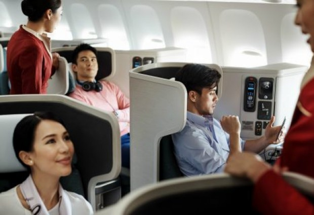 Special Business Class fares from SGD489 all-in via Cathay Pacific
