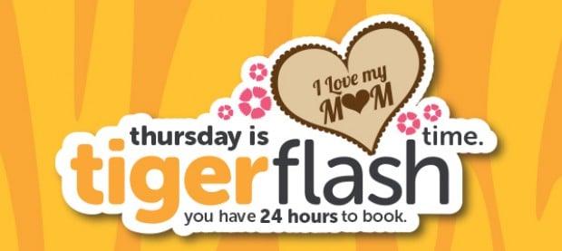 TigerAir Flash Thursday Sale from SGD0