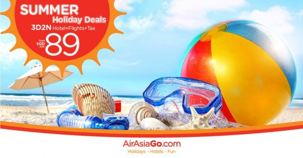 Summer Holiday Deals from SGD89 with AirAsiaGo 1