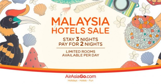 Malaysia Hotels Sale | Stay 3 Nights Pay for 2 Nights with AirAsiaGo 1