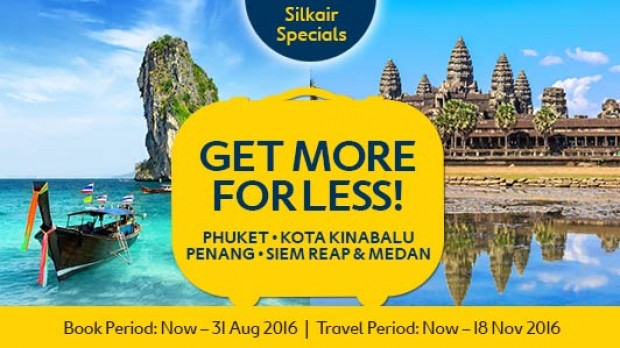 Great Deals from SilkAir with Expedia from SGD253 for Flight + Hotel 1