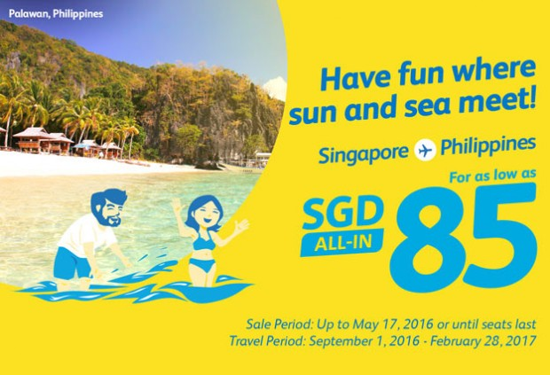 Fly to Philippines and Have Fun Where Sun & Sea Meet from SGD85 with Cebu Pacific