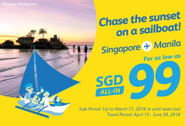 Fly to Manila from SGD 99 with Cebu Pacific