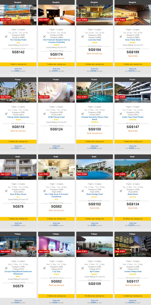 Weekend Getaway of 3D2N Hotel + Flight with AirAsiaGo from SGD 90 2