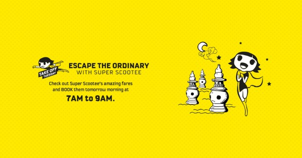 Tuesday Scoot Promo Fares from SGD48