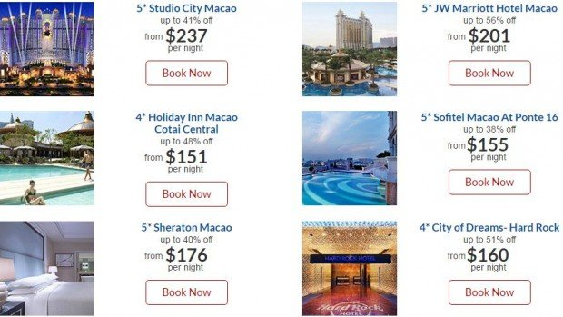 Experience Macao and Enjoy Up to 56% Off Hotel with CheapTickets.sg 2