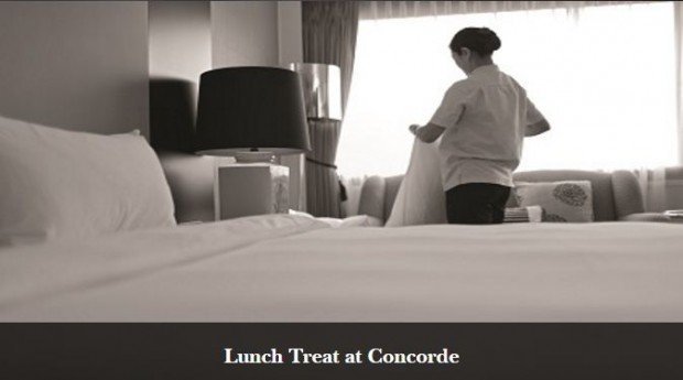 Stay and Enjoy a Lunch Treat at Concorde Inn KLIA from RM299