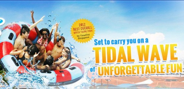 Enjoy 15% Off Day Pass admission in Wild Wild Wet with UOB Cards