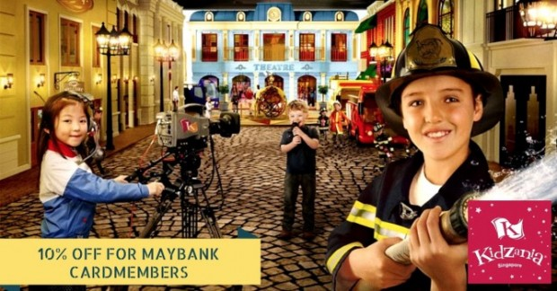 Enjoy 10% Off Admission Tickets in KidZania with Maybank