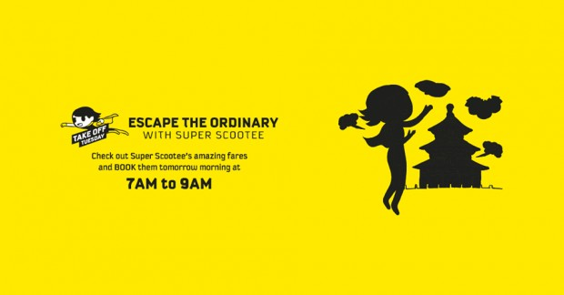 Get Ready to Scoot from Ordinary this Tuesday from SGD50