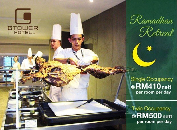 Single Occupancy from RM410 in G Tower Hotel's Ramadan Special